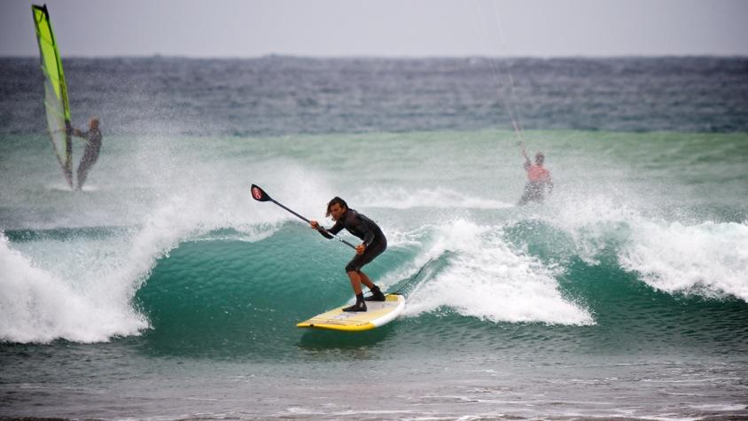 SUP, Windsurfing, Kitesurfing, El Medano